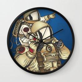 Astronauts Wall Clock