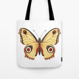 Juno Butterfly Illustration Tote Bag
