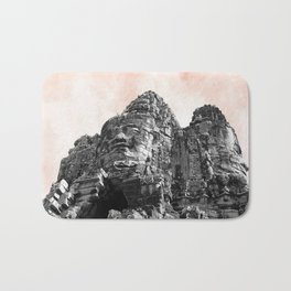 Part of Angkor Wat with candy Bath Mat