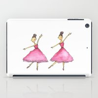 ballet iPad Cases featuring Ballet by K. Fry Illustration