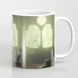 Flowers Blooming in the Church Coffee Mug