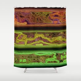 Strata Shower Curtain