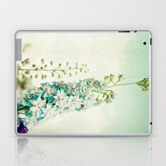 Vintage Blues Laptop & iPad Skin