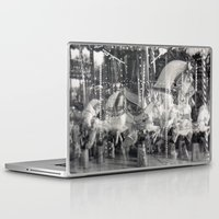 carousel Laptop & iPad Skins featuring Carousel by Ibbanez