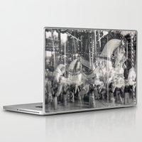 carousel Laptop & iPad Skins featuring Carousel by Ibbanez