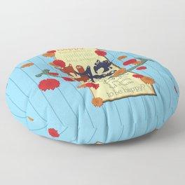 Happy Darling Mermaids Floor Pillow