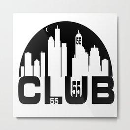CLUB 55  Metal Print