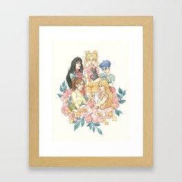 Sailor Sisters Framed Art Print