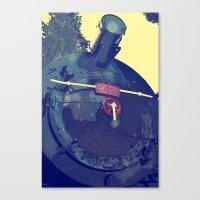 train Canvas Prints featuring train  by gzm_guvenc