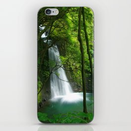 Waterfall in the Azores iPhone Skin