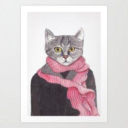 I'm No Cat Art Print