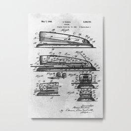 Stapler Metal Print
