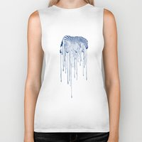 rain Biker Tanks featuring RAIN by Aneesh vini