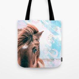 Horse horseshoes Tote Bag