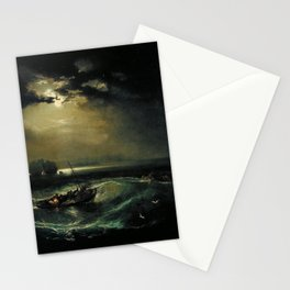 William Turner - Fishermen at Sea Stationery Cards