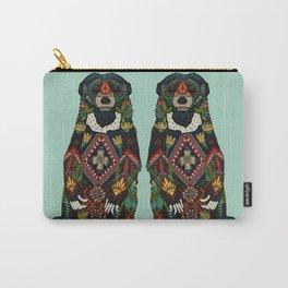 sun bear mint Carry-All Pouch