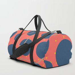 Pattern Face Duffle Bag