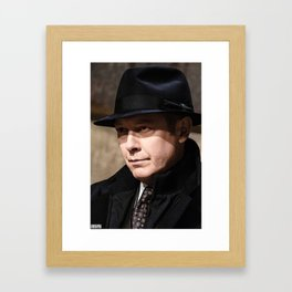 """""""Everyone dies someday."""" Framed Art Print"""