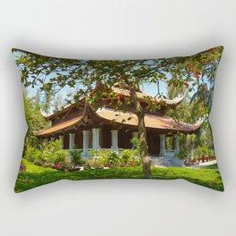 Vietnamese Temple Rectangular Pillow