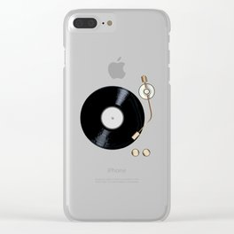 Record Deck Clear iPhone Case