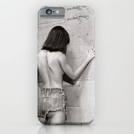 Only shades of Gray iPhone Case