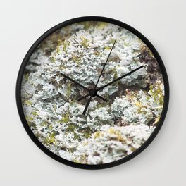 """WEED CABBAGE"" Wall Clock"