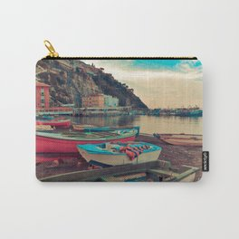 Boats of Sorrento Carry-All Pouch