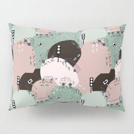 Four wheels green #homedecor Pillow Sham