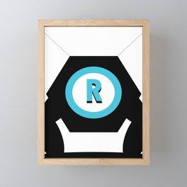 Robot Framed Mini Art Print