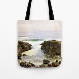 Yachats Oregon - Upon The Rocks Tote Bag