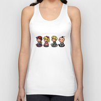 earthbound Tank Tops featuring Earthbound Guys by likelikes