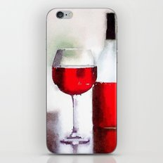 A glass a day iPhone & iPod Skin