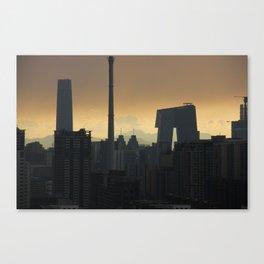 Western Sky, Beijing Canvas Print