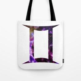 Galactic Gemini Tote Bag