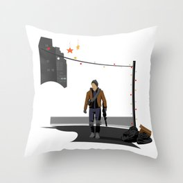 The Division Agent Throw Pillow