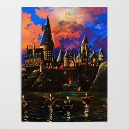 castel at painting Poster