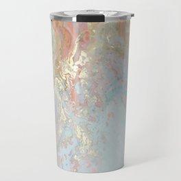 Pastel unicorn marble Travel Mug