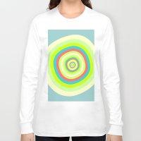 circles Long Sleeve T-shirts featuring Circles by akamundo