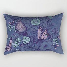Beauty (eye of the beholder) - neon version Rectangular Pillow
