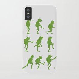 Ministry of Silly Muppet Walks iPhone Case