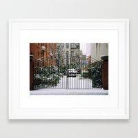 narnia Framed Art Prints featuring Narnia  by Sophia Zhou