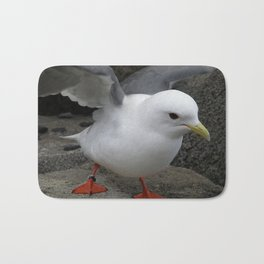 Red-Legged Kittiwake Bath Mat