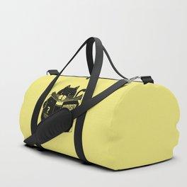 Curiosity Killed The Boredom Duffle Bag