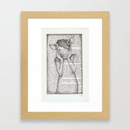 Pig Girl  Framed Art Print
