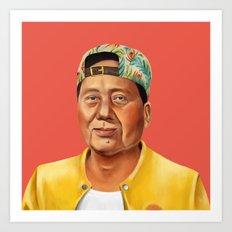 Hipstory -  Mao Zedong Art Print