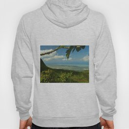 View of the Puerto Rico East Coast - from El Yunque rainforest Hoody