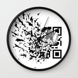 Break a (QR) Code Wall Clock