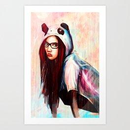 Bamboo 4 Chu! Art Print