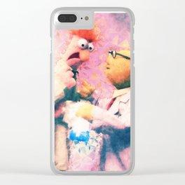 Muppets - Beaker & Bunsen Clear iPhone Case