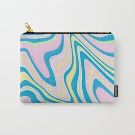 Pastel Marbling Art Carry-All Pouch